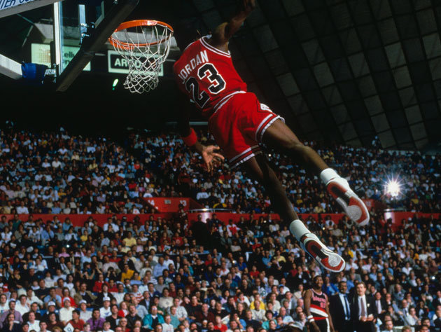 Last Dunk In The 1987 Slam Contest