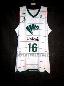 2011/2012 ACB Rookie Season Unicaja Málaga Álex Abrines Jersey - Front