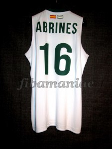 2011/2012 Alex Abrines - Back