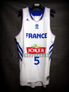 2014 World Cup France Nicolas Batum Jersey - Front