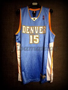 2005 NBA Rookie Challenge MVP Denver Nuggets Carmelo Anthony Jersey - Front