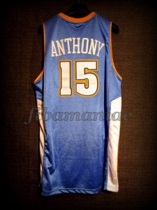 2005 NBA Rookie Challenge MVP Carmelo Anthony Jersey - Back