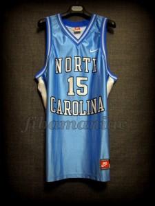 1998 NCAA Final Four North Carolina Tar Heels Vince Carter Jersey - Front