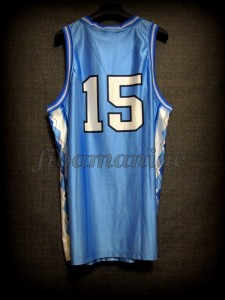 1998 NCAA Final Four North Carolina Tar Heels Vince Carter Jersey - Back