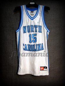 1997 NCAA Final Four North Carolina Tar Heels Vince Carter Jersey - Front