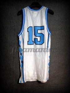 1997 NCAA Final Four Vince Carter Jersey - Back