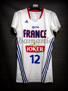 2014 World Cup France Nando de Colo Jersey - Front
