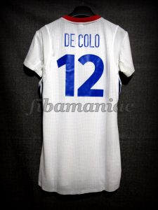 2014 World Cup France Nando de Colo Jersey - Back