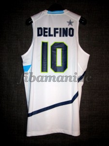London 2012 Olympic Games Argentina Carlos Delfino Jersey - Back