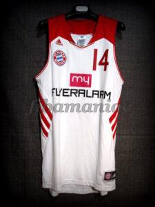 2014 BBL Champions Bayern Munich Nihad Djedovic Jersey - Front