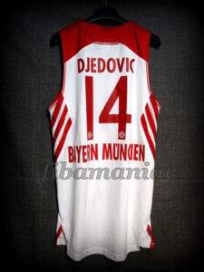2014 BBL Champions Bayern Munich Nihad Djedovic Jersey - Back