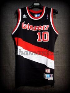 1986/1987 Rookie Season Portland Trail Blazers Fernando Martín Jersey - Front