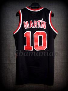 1986/1987 Rookie Season Portland Trail Blazers Fernando Martín Jersey - Back