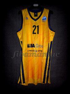 2011/2012 Eurocup Alba Berlin Torin Francis Jersey - Front