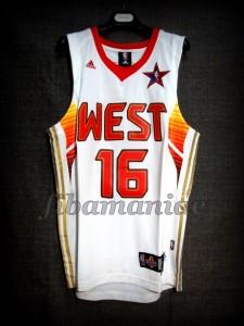 2009 NBA All Star Pau Gasol Jersey – Front