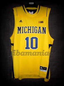 2013 NCAA Final Four Michigan Wolverines Tim Hardaway Jr. Jersey - Front