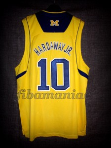 2013 NCAA Final Four Michigan Wolverines Tim Hardaway Jr. Jersey - Back