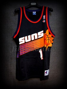 "2000 Western Conference Semifinals Phoenix Suns Anfernee ""Penny"" Hardaway Jersey - Front"