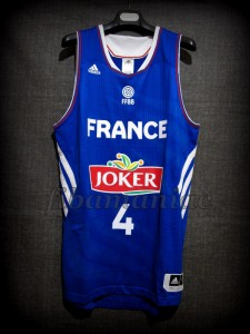 2014 World Cup France Thomas Heurtel Jersey - Front