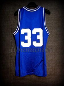 1991 & 1992 NCAA Champions Duke Blue Devils Grant Hill Jersey - Back