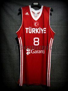 2010 World Cup Runner-Ups Turkey Ersan Ilyasova Jersey - Front
