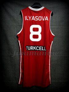 2010 World Cup Runner-Ups Turkey Ersan Ilyasova Jersey - Back