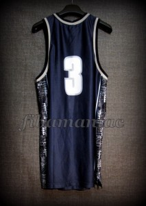 1996 All-American First Team Georgetown Hoyas Allen Iverson Jersey - Back