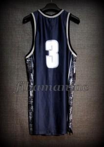 1996 All-American First Team Georgetown Hoyas Allen Iverson Jersey - Back