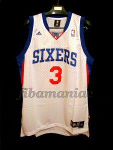2009/2010 Comeback Season Philadelphia 76ers Allen Iverson Jersey – Front