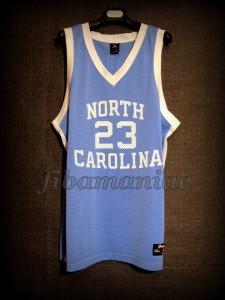 1982 NCAA Champions North Carolina Tar Heels Michael Jordan Jersey - Front