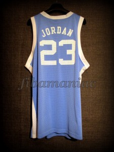 1982 NCAA Champions North Carolina Tar Heels Michael Jordan Jersey - Back