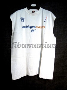 2001/2003 Michael Jordan Second Comeback Washington Wizards Training Jersey