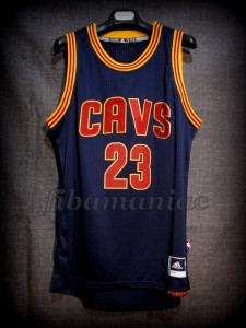 2016 NBA Finals MVP Cleveland Cavaliers Lebron James Jersey - Front