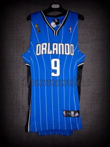 2009 NBA Finals Orlando Magic Rashard Lewis Jersey - Front