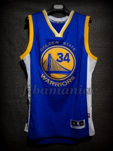 2015 & 2017 NBA Finals Champions Golden State Warriors Shaun Livingston Jersey - Front