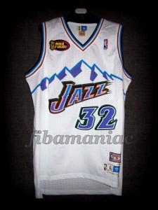1998 NBA Finals Utah Jazz Karl Malone Jersey - Front