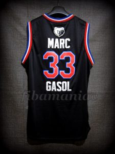 2015 NBA All Star West Marc Gasol Jersey – Back