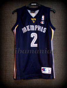 2007/2008 Memphis Grizzlies Juan Carlos Navarro Jersey - Front