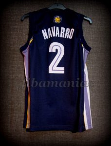 2007/2008 Memphis Grizzlies Juan Carlos Navarro Jersey - Back
