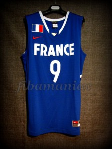 2010 World Cup France Tony Parker Jersey - Front