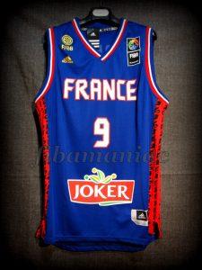 2015 Eurobasket France Tony Parker Jersey - Front