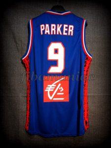 2015 Eurobasket France Tony Parker Jersey - Back