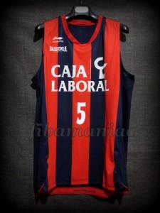 2011/2012 Euroleague Baskonia Vitoria Pablo Prigioni Jersey - Front