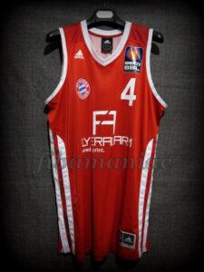 2013 All-BBL Team Bayern Munich Tyrese Rice Jersey - Front