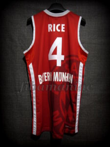 2013 All-BBL Team Bayern Munich Tyrese Rice Jersey - Back