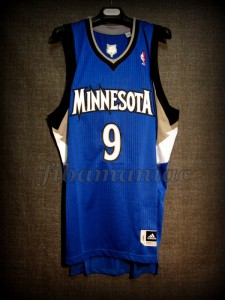2012 NBA All-Rookie First Team Minnesota Timberwolves Ricky Rubio Jersey - Front