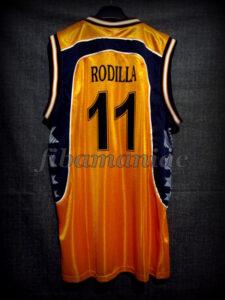 2001 European Cup Winners' Cup Semifinals Valencia Basket Nacho Rodilla Jersey - Back