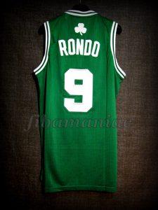 2010 NBA Finals Rajon Rondo Jersey - Back