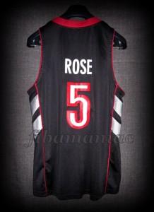 2004/2005 Toronto Raptors Jalen Rose Jersey - Back