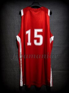 2011 FIBA U19 World Cup Croatia Dario Saric Jersey Back - MW